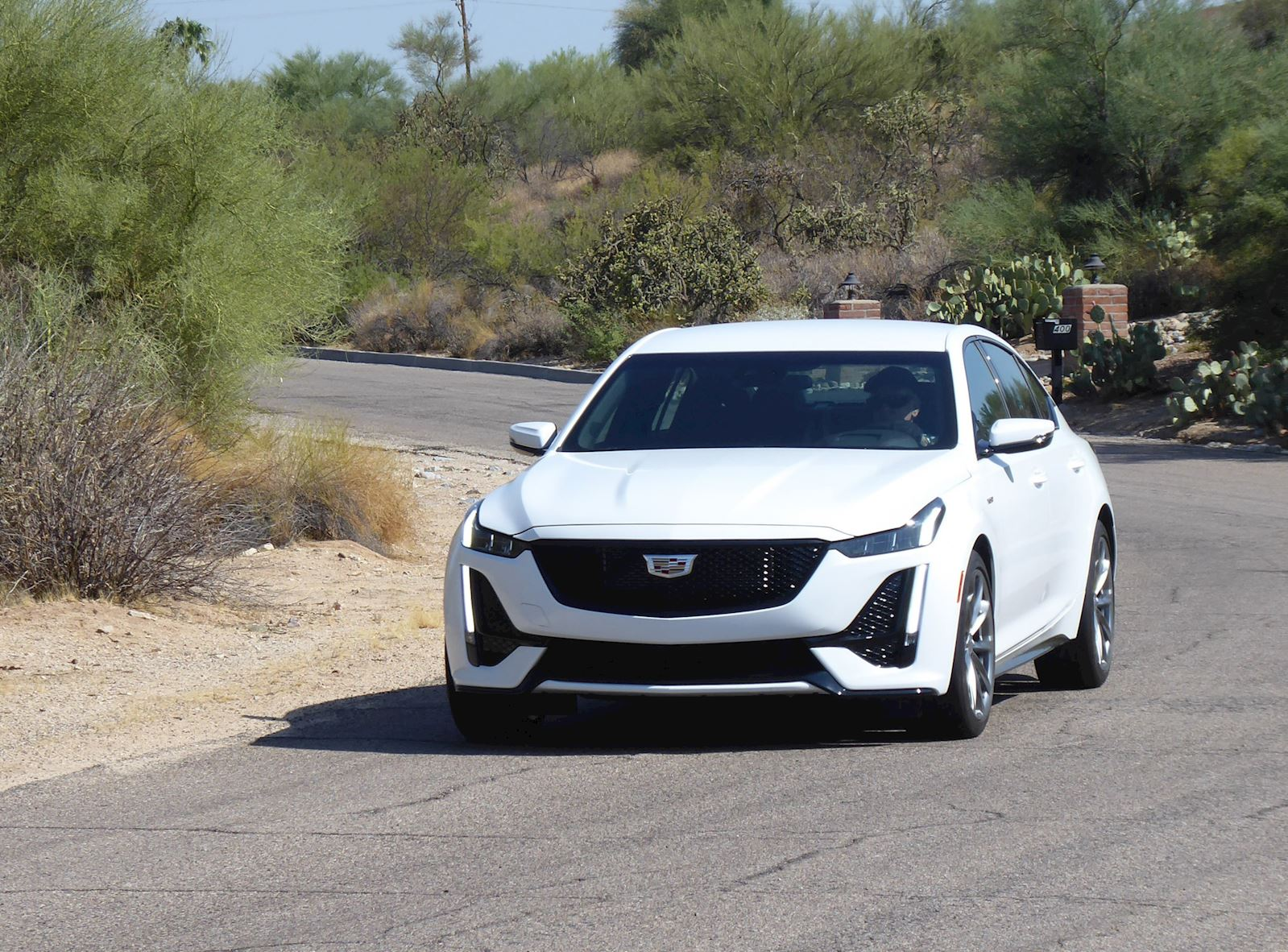 2020 Cadillac CT5 driving feel