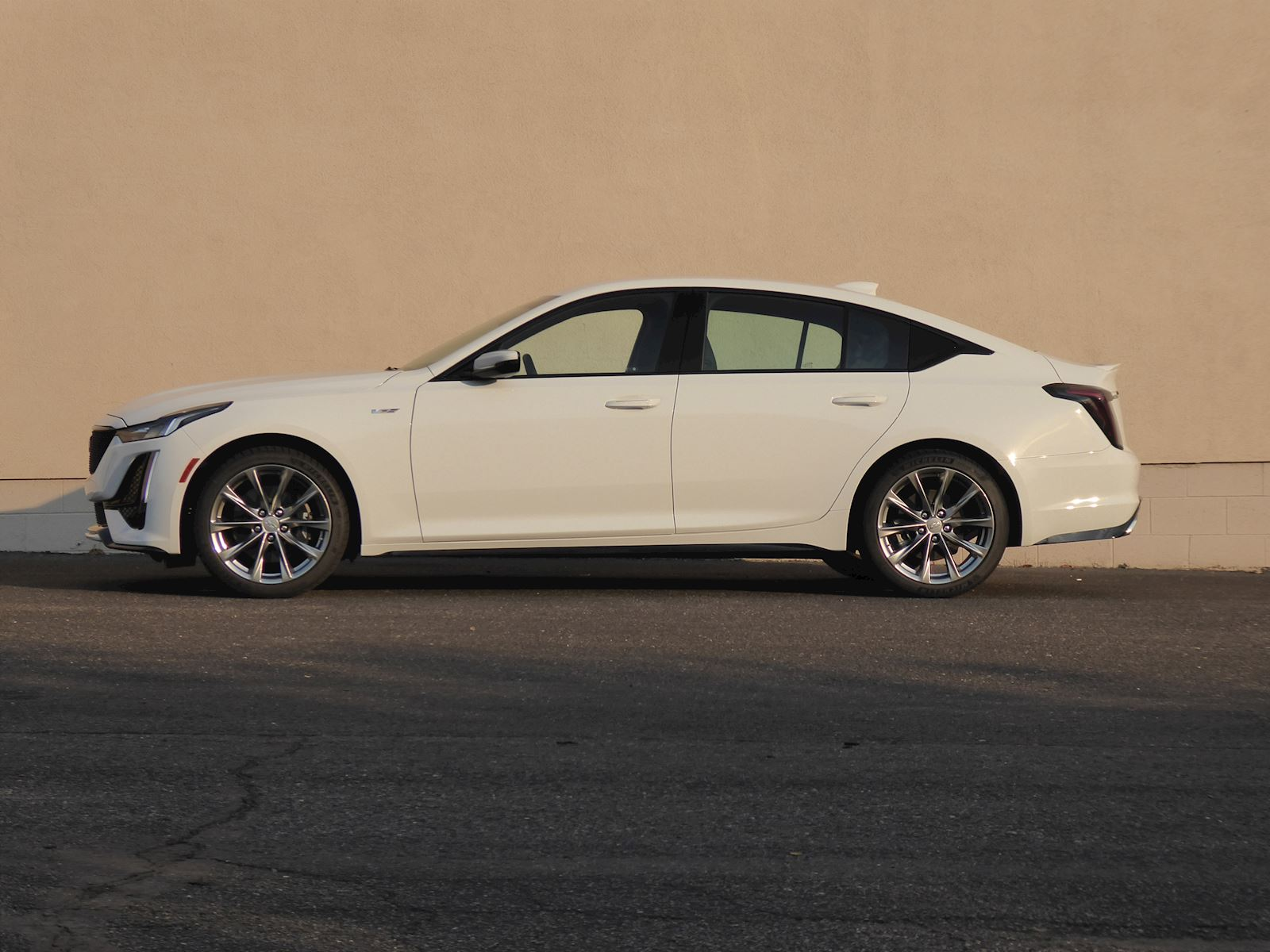 2020 Cadillac CT5 side view
