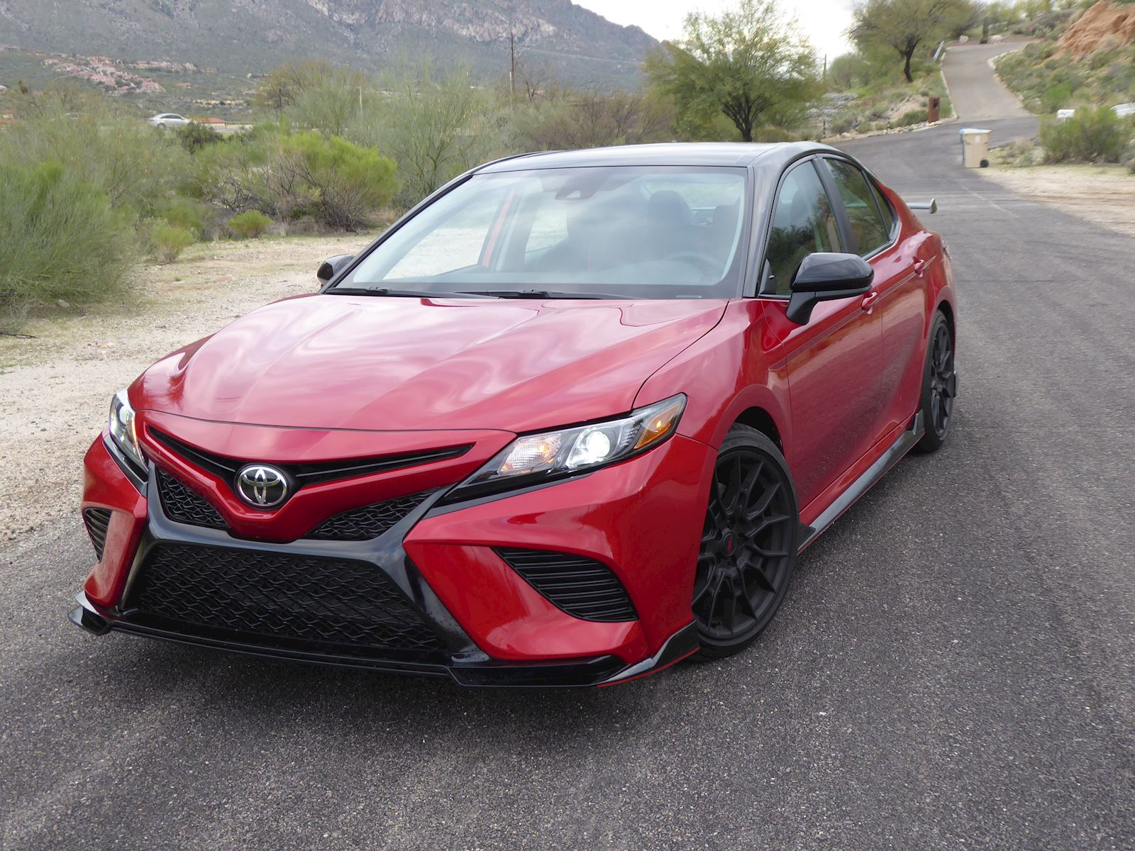 2020 Toyota Camry TRD front view