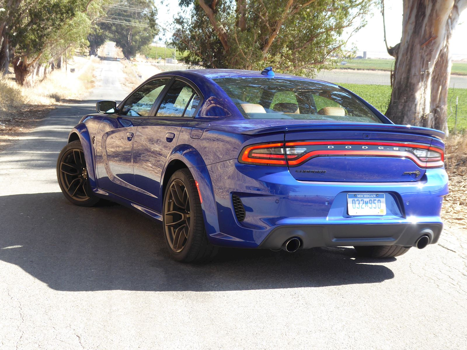 2020 Dodge Charger SRT Hellcat Widebody rear view