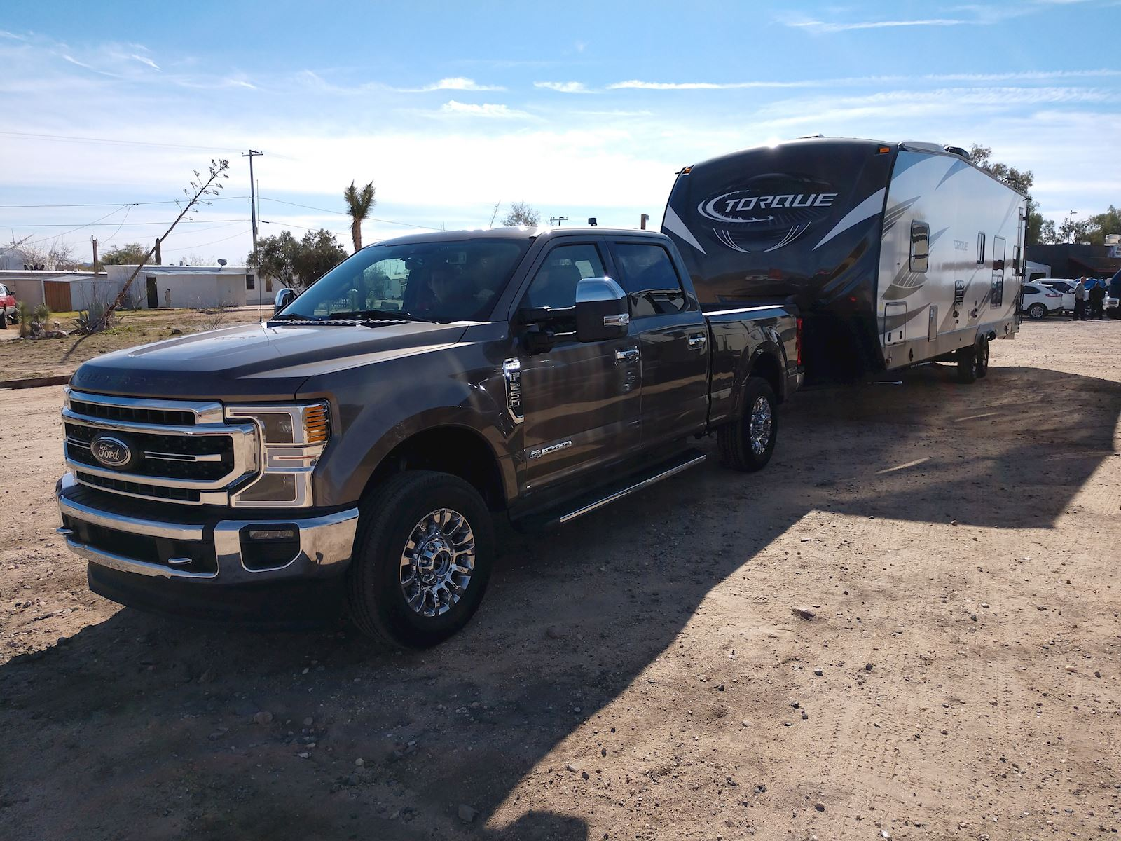 2020 Ford F-250 Super Duty trailer hauling capabilities