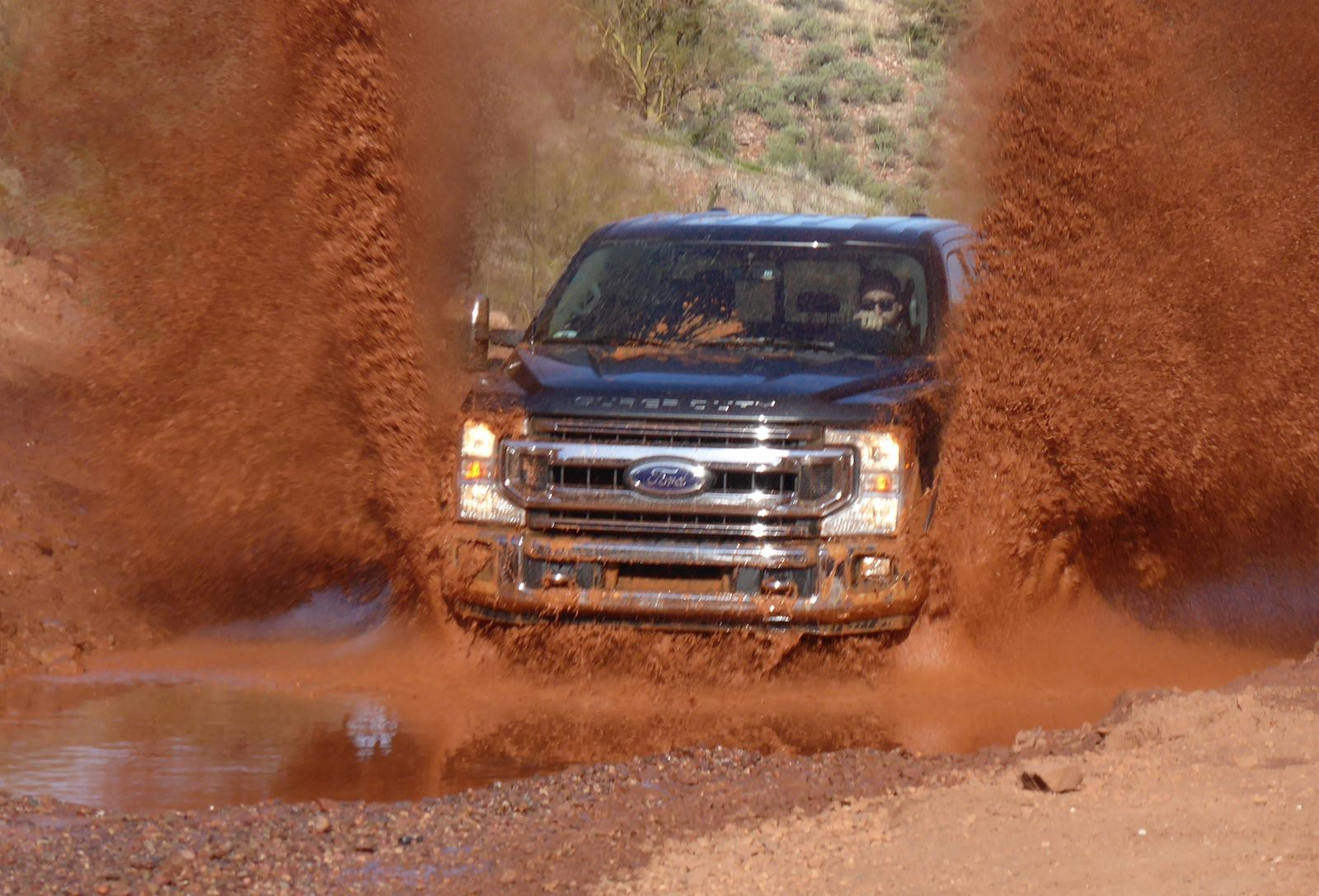 2020 Ford F-250 Super Duty water fording capability