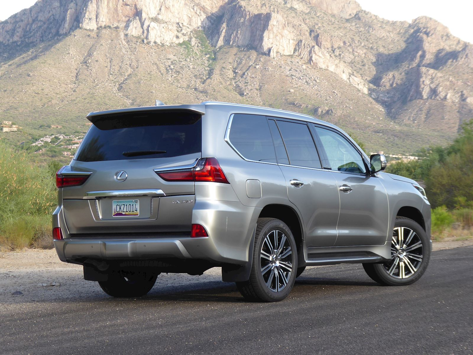 2020 Lexus LX 570 Rear Beauty