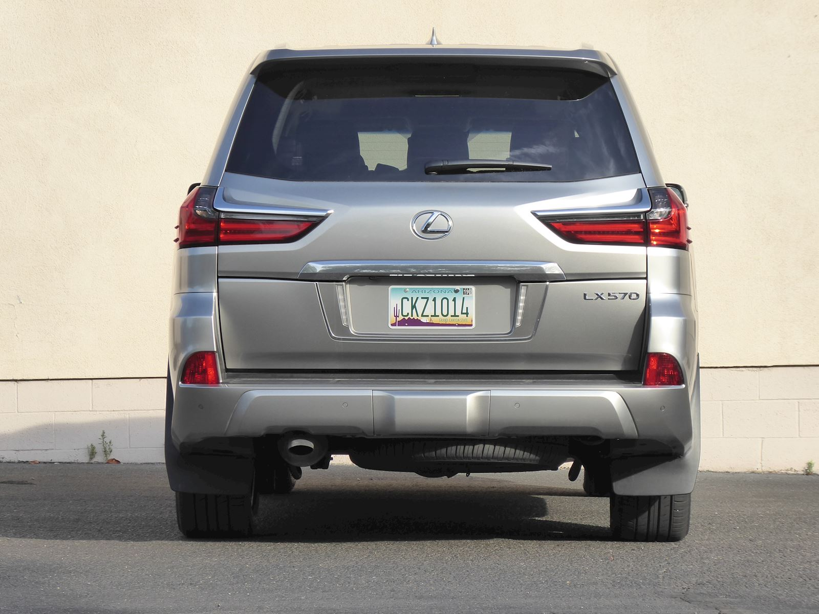 2020 Lexus LX 570 Rear View Mugshot Photo