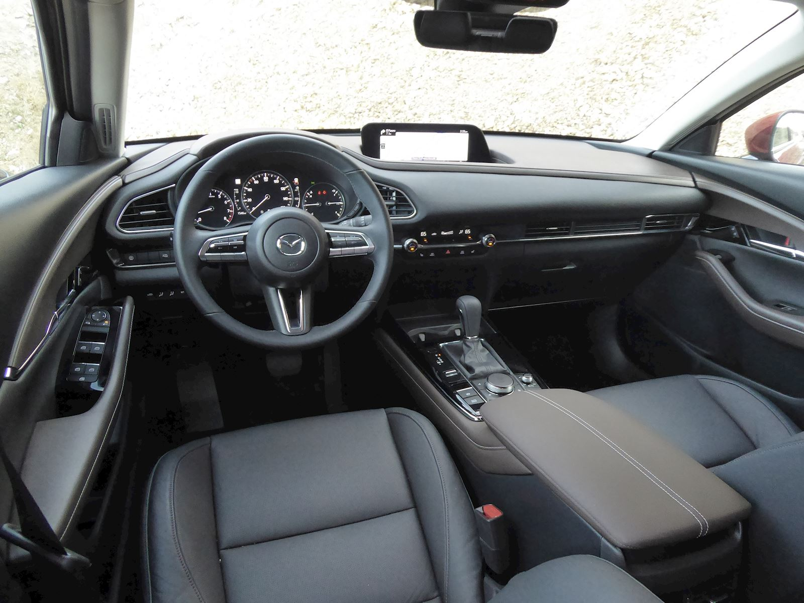2020 Mazda CX-30 interior finish dashboard