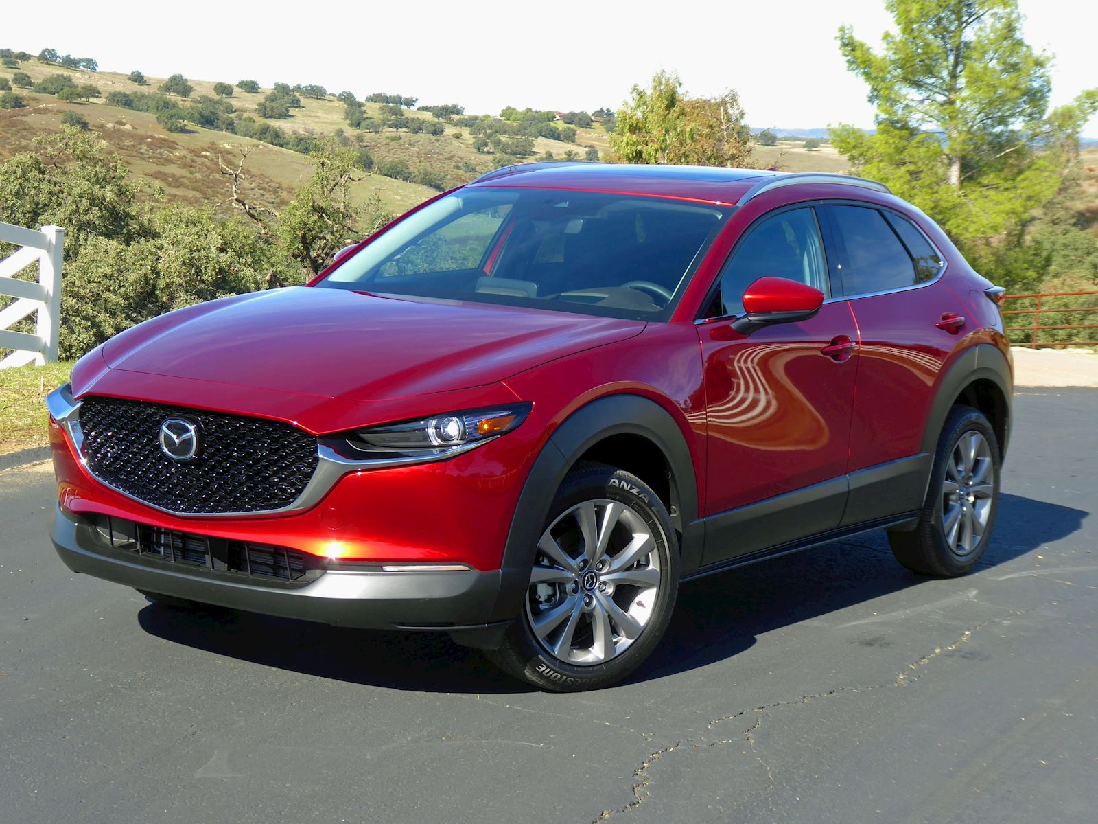 2020 Mazda CX-30 front and side view