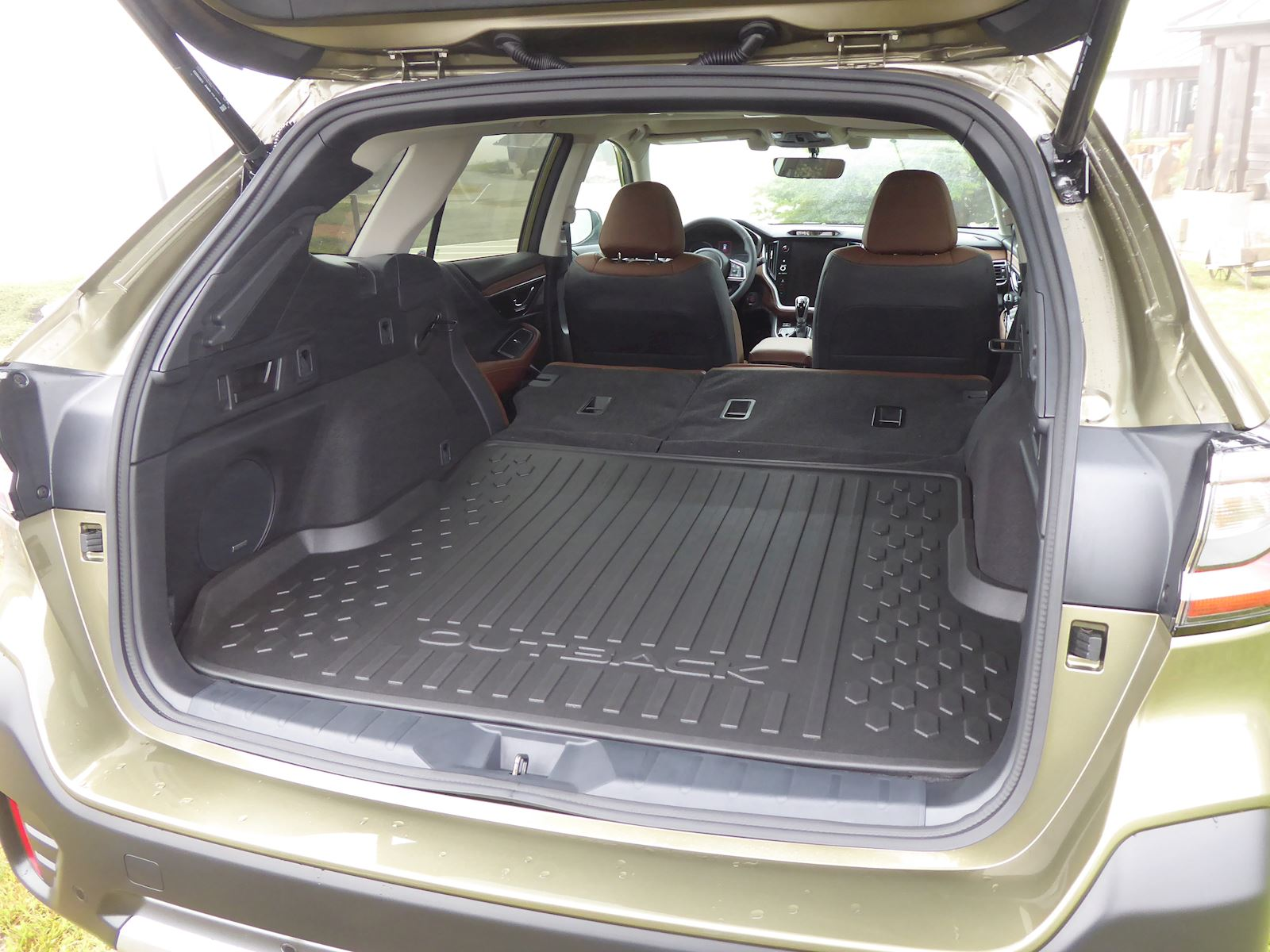 2020 Subaru Outback cargo space photo