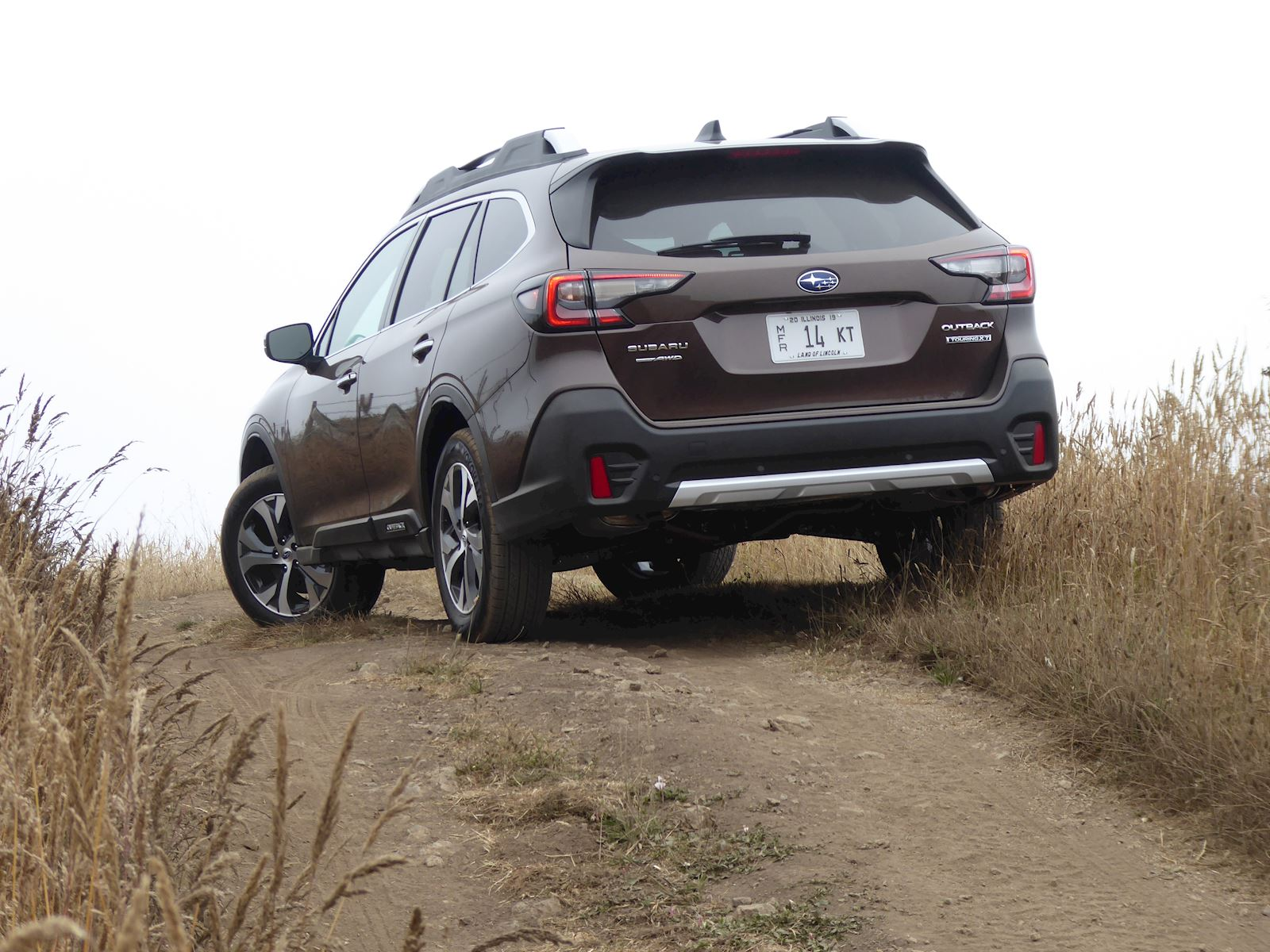 2020 Subaru Outback rear view photo