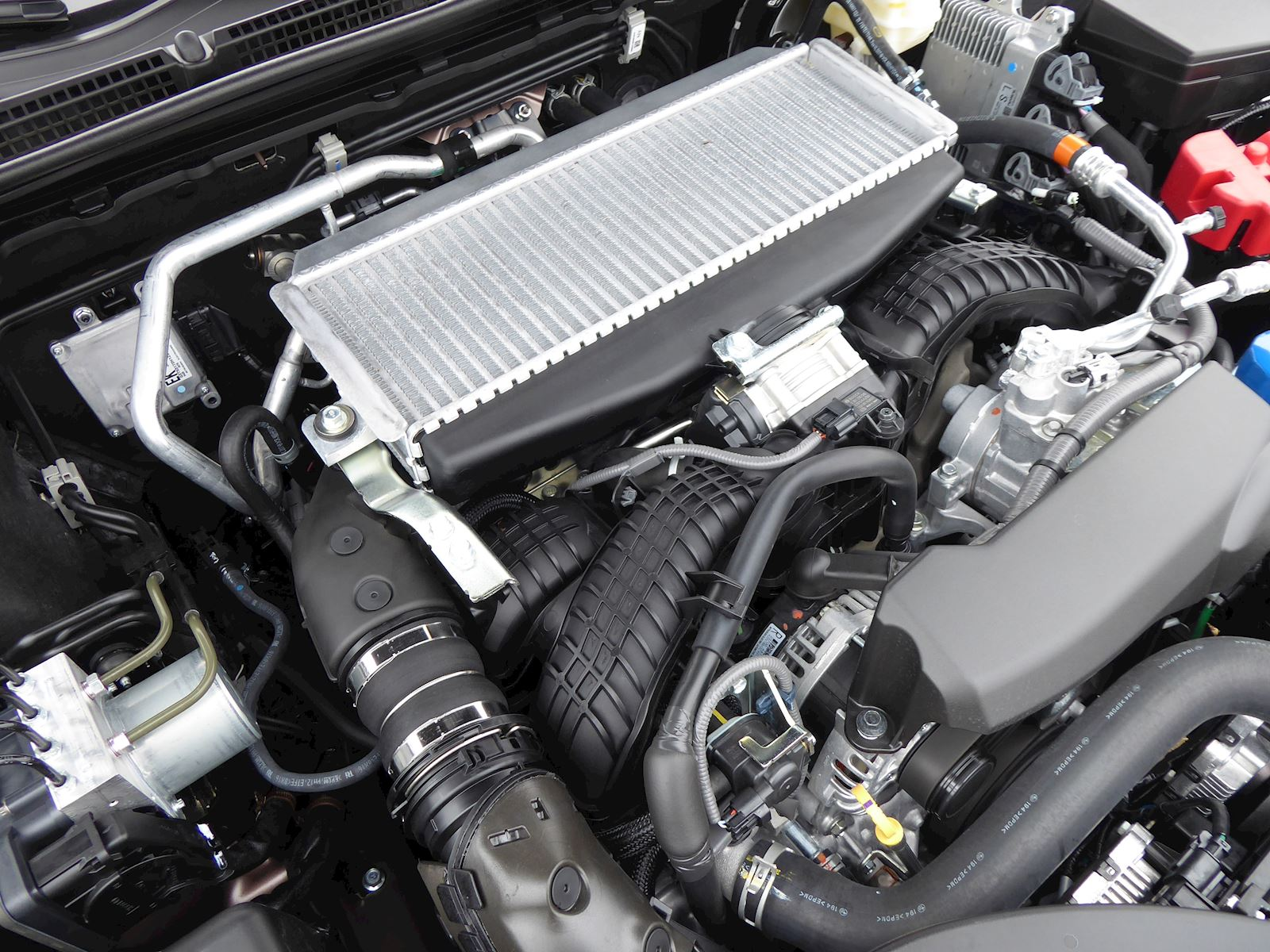 2020 Subaru Outback turbo engine photo