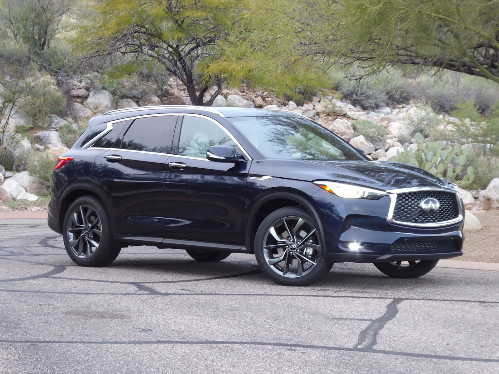 2020 Infiniti QX50 exterior side view