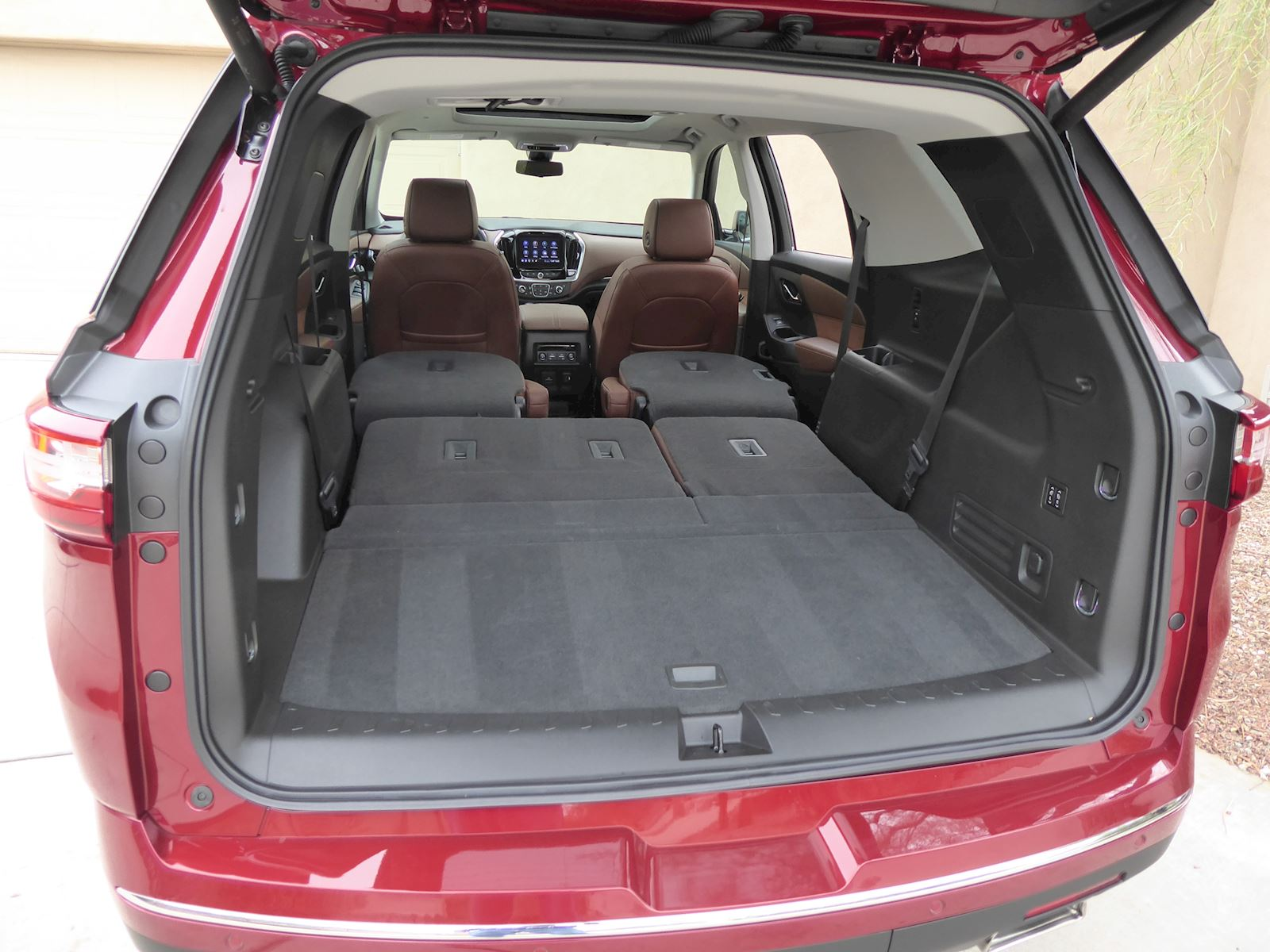 2020 Chevrolet Traverse cargo space