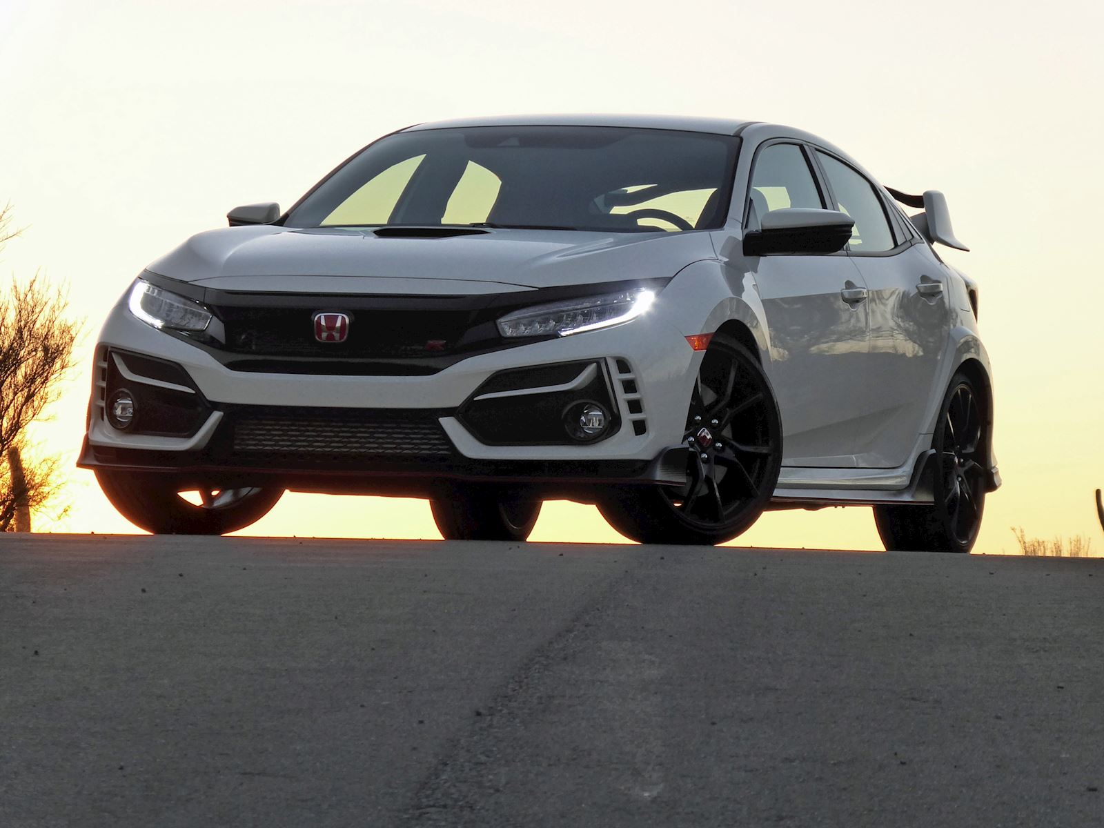 2021 Honda Civic Type R front view