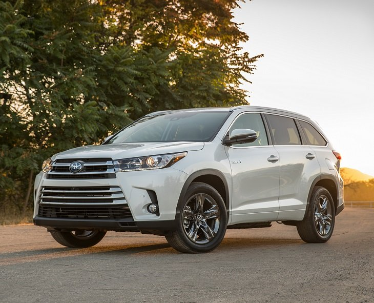 2019 Toyota Highlander Hybrid Limited Platinum photo