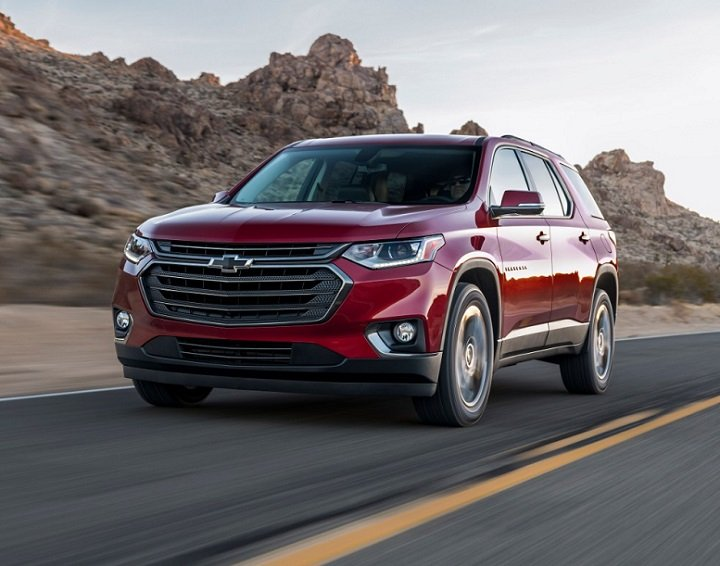 2018 Chevrolet Traverse RS photo