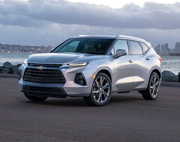 2019 Chevrolet Blazer Review Expert Reviews J D Power