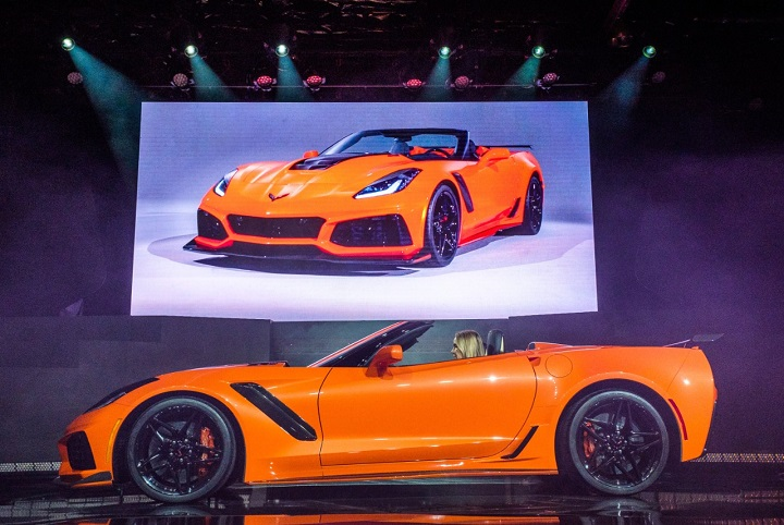 2019 Chevrolet Corvette ZR1 Convertible photo