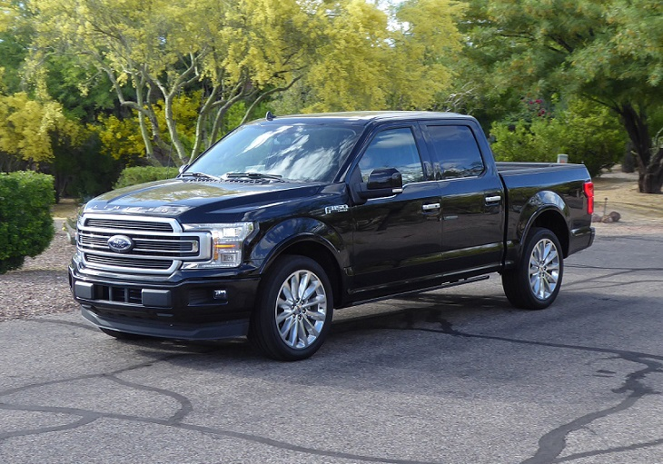 2019 Ford F-150 action photo