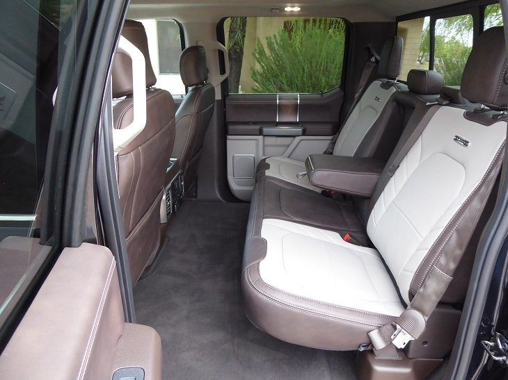 2019 Ford F-150 rear seat photo