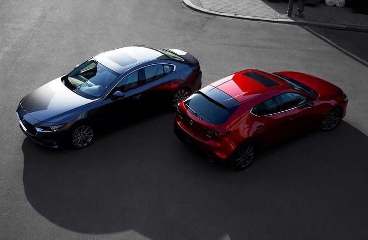 2019 Mazda 3 Sedan and Hatchback