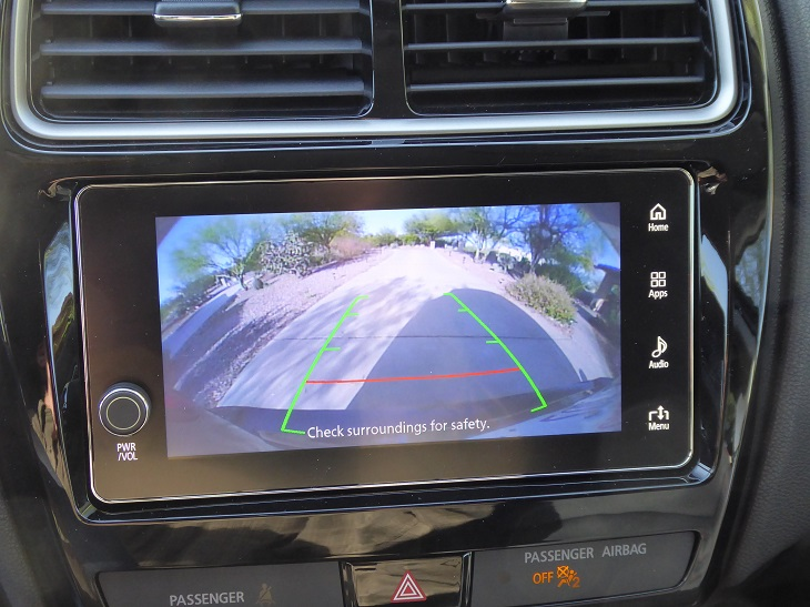 2019 Mitsubishi Outlander Sport GT reversing camera photo