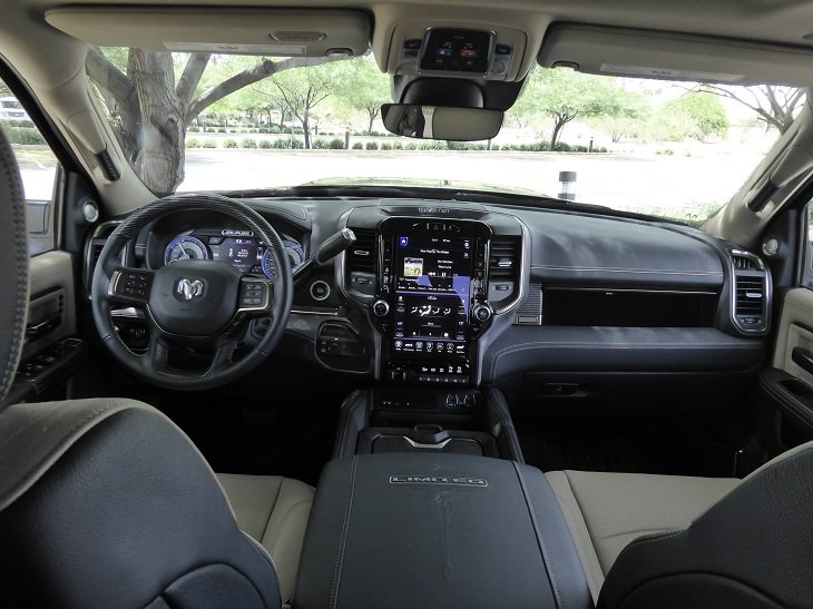 2019 Ram 2500 HD dash photo