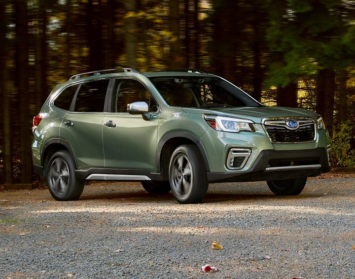 Test Drive 2019 Subaru Forester Expert Reviews J D Power