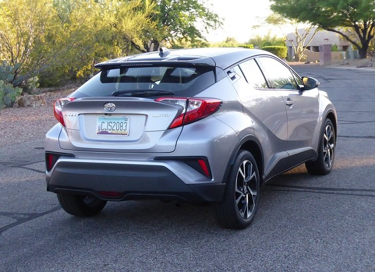 2019 Toyota C-HR Limited rear photo