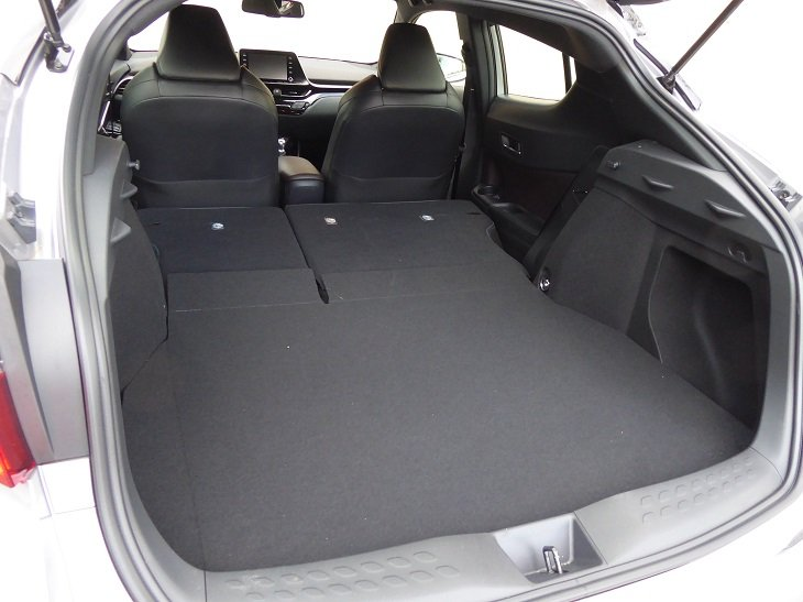 2019 Toyota C-HR Limited rear cargo area photo