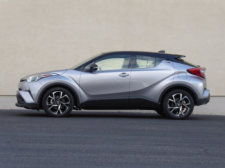2019 Toyota C-HR Limited side profile photo
