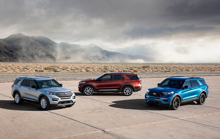 2020 Ford Explorer Family