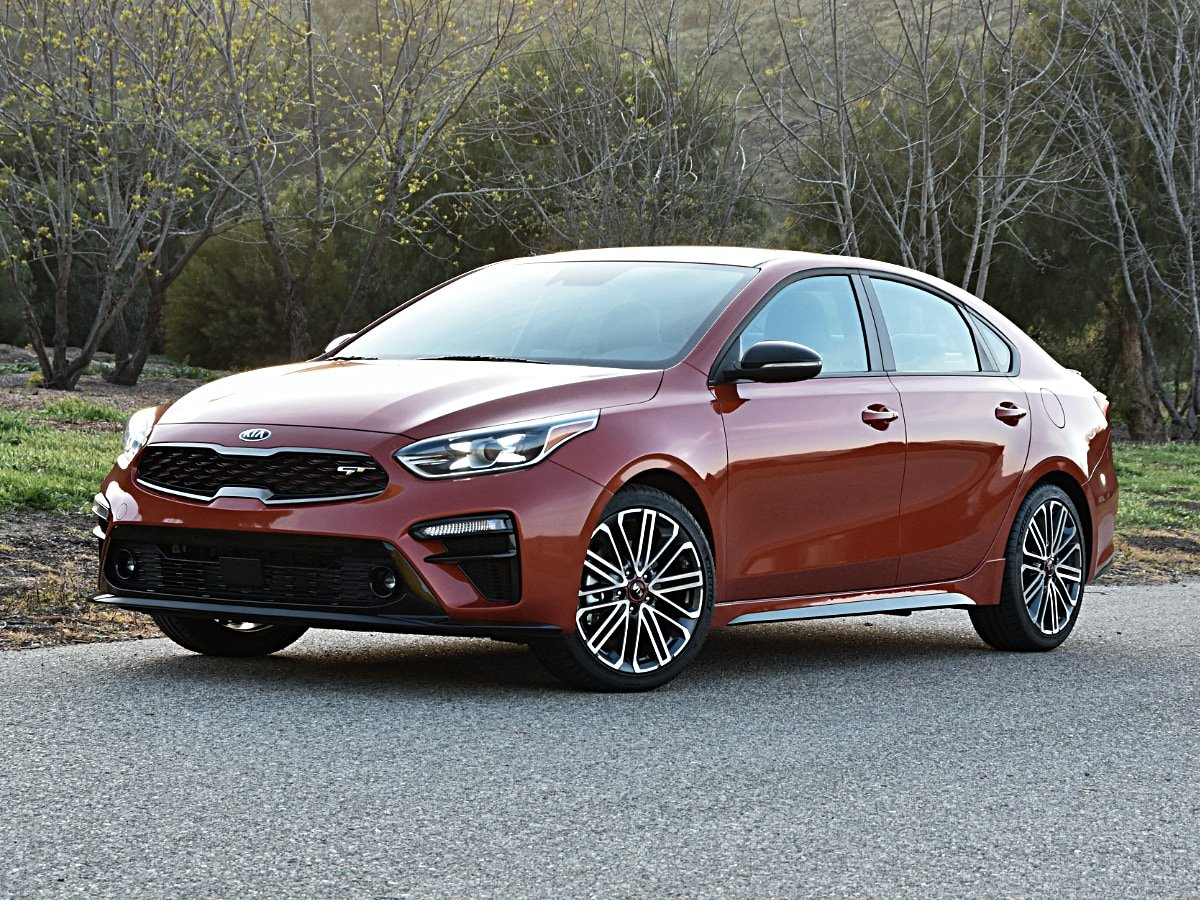 2020 Kia Forte GT Fire Orange Front View