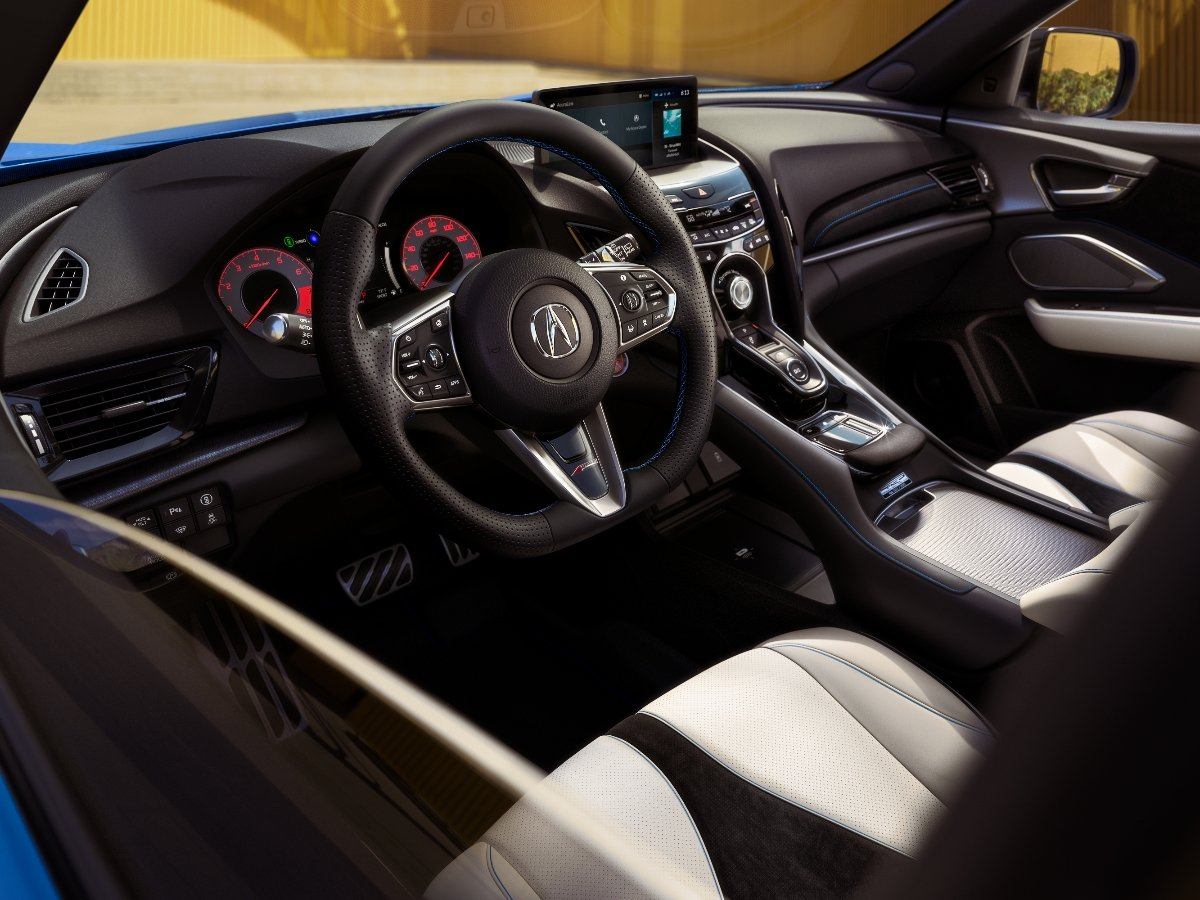2022 Acura RDX PMC Edition Interior Dashboard Orchid Leather