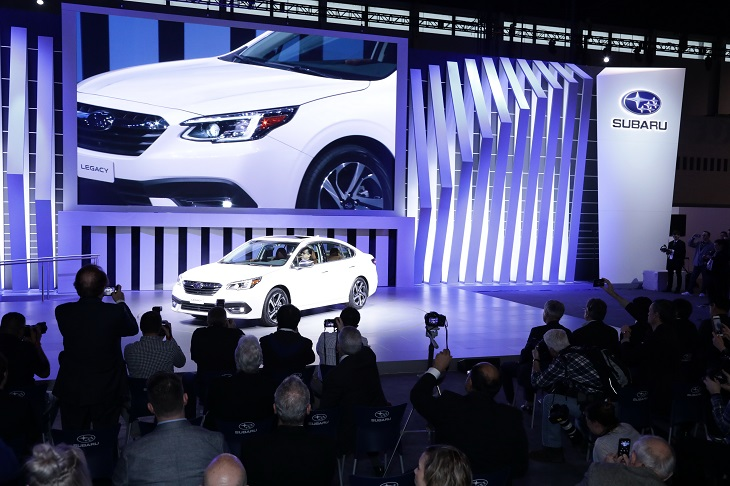 Subaru press conference at the 2019 Chicago Auto Show photo