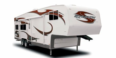 Stealth Limited Toy Hauler Fifth Wheel Series M Lx3112 Specs