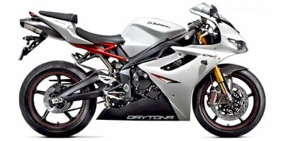 2012 Triumph Daytona 675 R Standard Equipment Specs