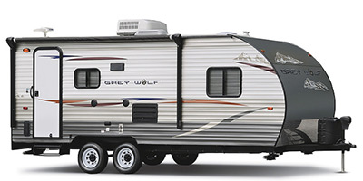 2013 Cherokee By Forest River Grey Wolf Toy Hauler Series