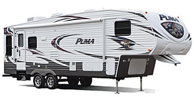 2014 Palomino by Forest River Puma Fifth Wheel Series M-295BHSS