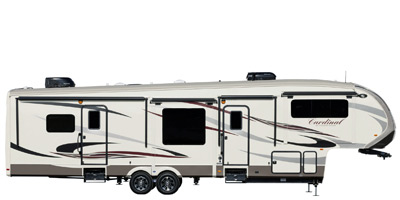 2015 Cardinal By Forest River Fifth Wheel Series M 3450rl Specs And Standard Equipment Nadaguides
