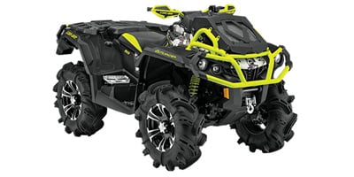 2016 Can Am Outlander 1000r X Mr Camouflage Standard Equipment Specs