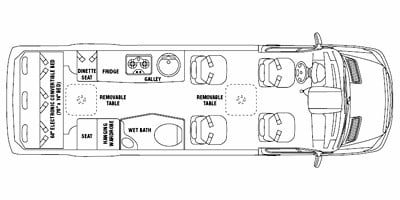 2010 Airstream Interstate Series M-3500 Specs and Standard Equipment
