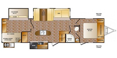 2013 Crossroads Rv Sunset Trail Reserve Series M 33 Bd Specs And Standard Equipment Nadaguides