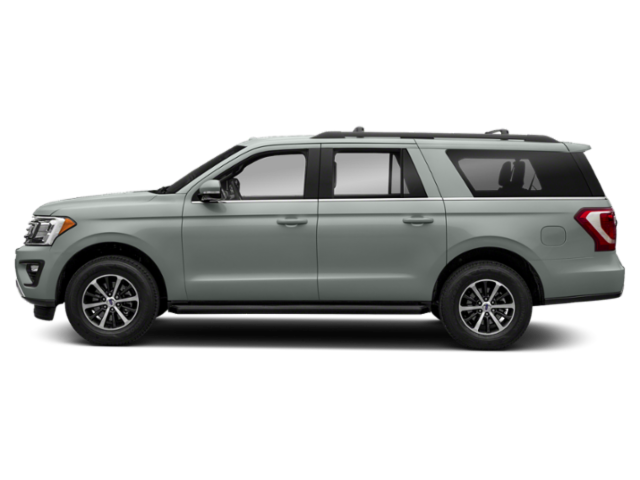 Ford Expedition Max Limited X Side View Silver Spruce Metallic