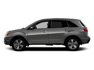 Polished Metal Metallic 2010 Acura MDX Pictures MDX Utility 4D AWD photos side view