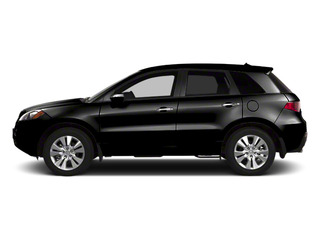 Crystal Black Pearl 2010 Acura RDX Pictures RDX Utility 4D AWD photos side view