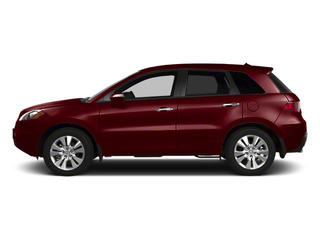 Basque Red Pearl 2010 Acura RDX Pictures RDX Utility 4D AWD photos side view