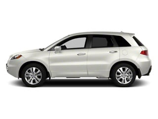 White Diamond Pearl 2010 Acura RDX Pictures RDX Utility 4D Technology 2WD photos side view