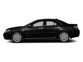 Crystal Black Pearl 2010 Acura RL Pictures RL Sedan 4D AWD photos side view