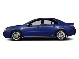 Opulent Blue Pearl 2010 Acura RL Pictures RL Sedan 4D Technology photos side view