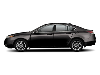 Crystal Black Pearl 2010 Acura TL Pictures TL Sedan 4D AWD photos side view