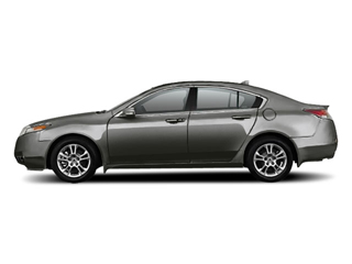 Polished Metal Metallic 2010 Acura TL Pictures TL Sedan 4D photos side view